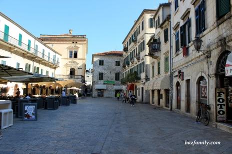 Eski Şehir Sokakları - Kotor