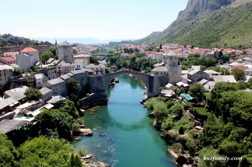 Minareden Mostar Köprüsü