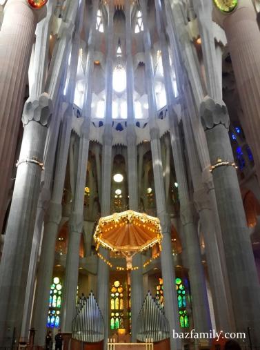 Sagrada Familia - İç Kısım