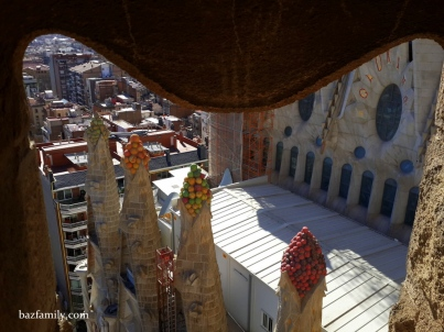 Sagrada Familia - Nativity Facade - Tamamlanan Dört Kule