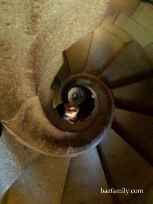 Sagrada Familia - Salyangoz Merdivenler