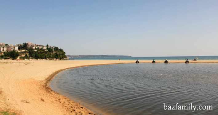 Mert Gölü ve Deniz Yanyana