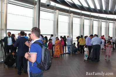 Burj Khalifa 124. Kat