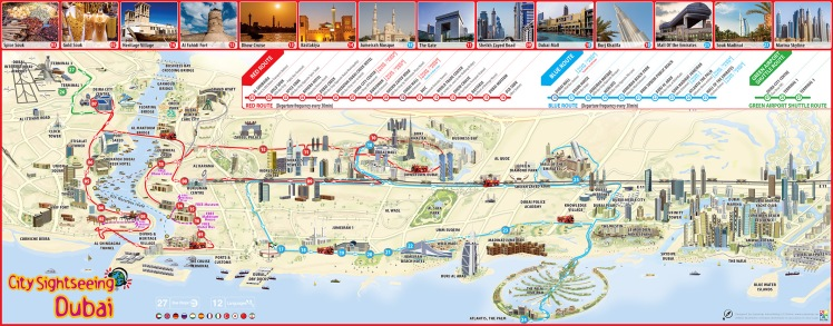 Dubai Turist Haritası